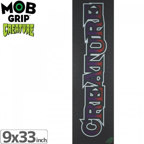 【モブグリップ MOB GRIP デッキテープ】CREATURE LONG LOGO GRIPTAPE【9 x 33】NO184