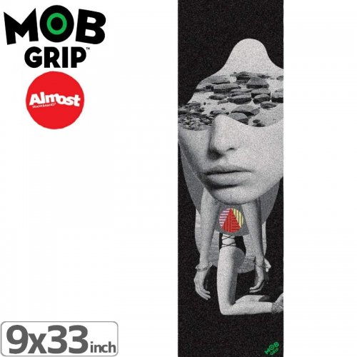 【モブグリップ MOB GRIP デッキテープ】GIRL COLLAGE GRIPTAPE【9 x 33】NO189