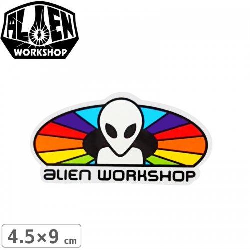 【エイリアンワークショップ ALIENWORKSHOP ステッカー】SPECTRUM STICKER【4.5cm x 9cm】NO50