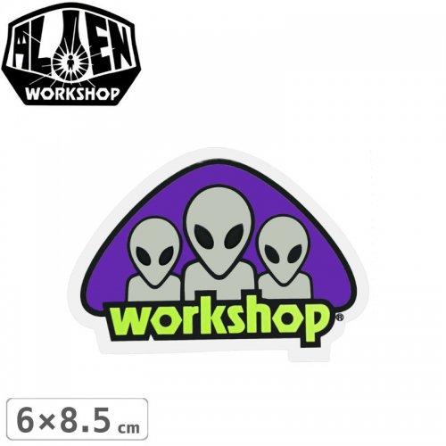 【エイリアンワークショップ ALIENWORKSHOP ステッカー】TRIAD STICKER【6cm x 8.5cm】NO51