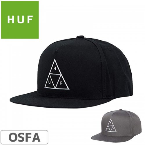 【HUF ハフ スケボー CAP キャップ】METAL H STRAPBACK HAT NO78