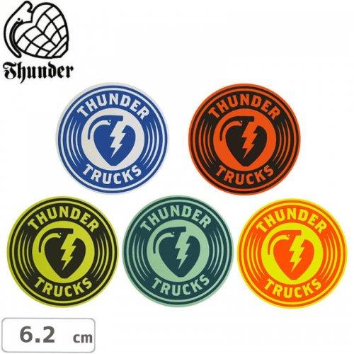 【サンダートラック THUNDERスケボー ステッカー】CHARGED STICKER【6.2cm】NO42