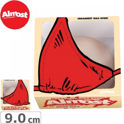 【オルモスト ALMOST スケボー ワックス】BOOB WAX【カーブワックス】NO8