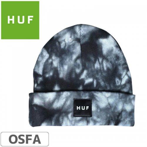 【HUF ハフ スケボー ニットキャップ】Frost Wash Beanie【ブラック】NO6