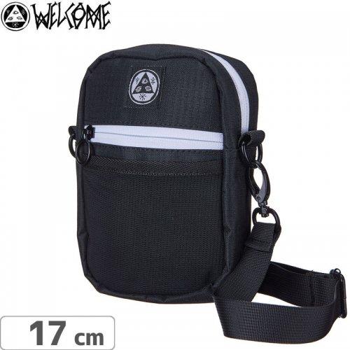 【WELCOME ウェルカム スケートボード ショルダーバッグ】TALISMAN SHOULDER BAG【ブラック】NO2