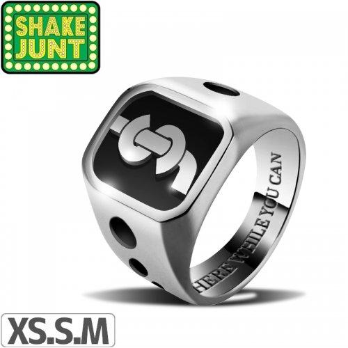 【シェイクジャント SHAKE JUNT スケボー リング 指輪】SJ DROP RING【シルバー】NO2