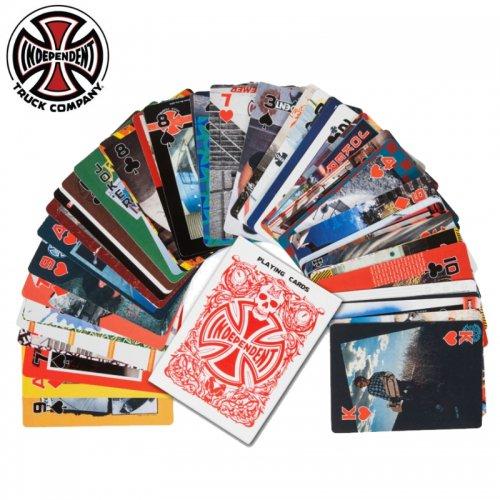 【インディペンデント INDEPENDENT スケボー トランプ】HOLD EM PLAYING CARDS NO1