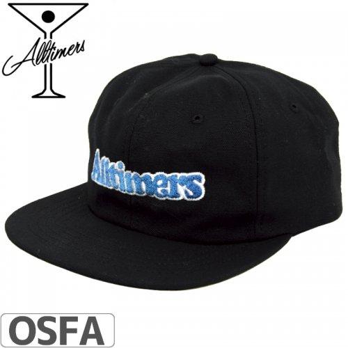 【ALLTIMERS オールタイマーズ スケボー キャップ】BROADWAY HAT【ブラック】NO2