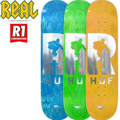 【リアル REAL スケボーデッキ】HUF HYDRANT R-1 DECK[8.25インチ]NO152