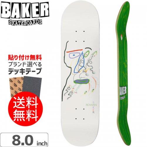【ベーカー BAKER スケボー デッキ】ROWAN SLUMBER DECK[8.0インチ]NO214