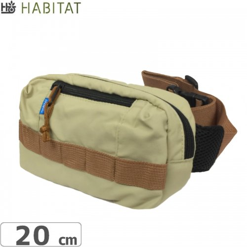 エアーフレッシュナープレゼント中【HABITAT ハビタット スケボー バッグ】FIELD BAG【ベージュ】NO7