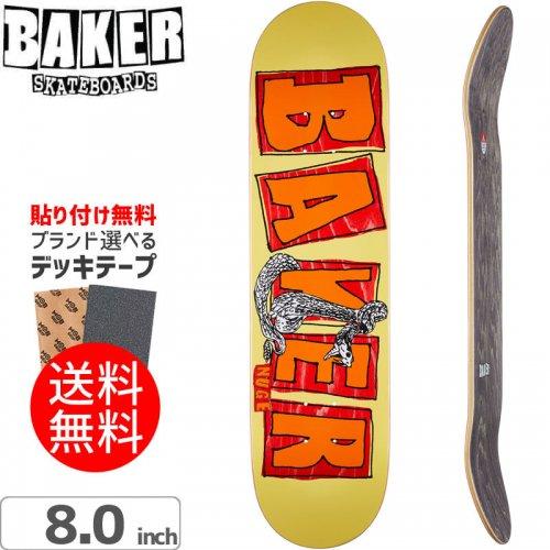 【ベーカー BAKER スケボー デッキ】NUGE BRAND NAME FLASH DECK[8.0インチ]NO222