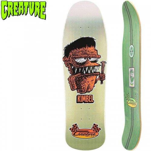 【クリーチャー CREATURE スケートボード デッキ】KIMBEL BOARD FINK DECK【9.57】オールドスクール NO155