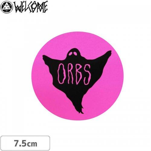 【スケボー ステッカー ウェルカム】WELCOME Orbs CIRCLE STICKER【7.5cm×7.5cm】NO11