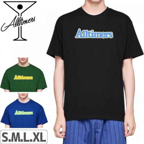 【ALLTIMERS オールタイマーズ スケボー Tシャツ】BROADWAY TEE【3カラー】NO4