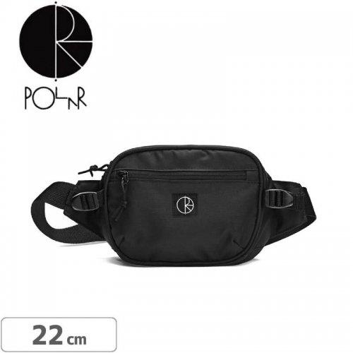 エアーフレッシュナープレゼント中【スケボー バッグ ポーラー】POLAR SKATE CO. CORDURA HIP BAG【ブラック】NO4