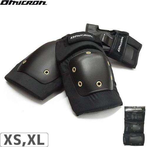 【OMICRON オミクロン スケボー プロテクター】OEL-615 3 IN 1 PAD SET【3点セット】NO6