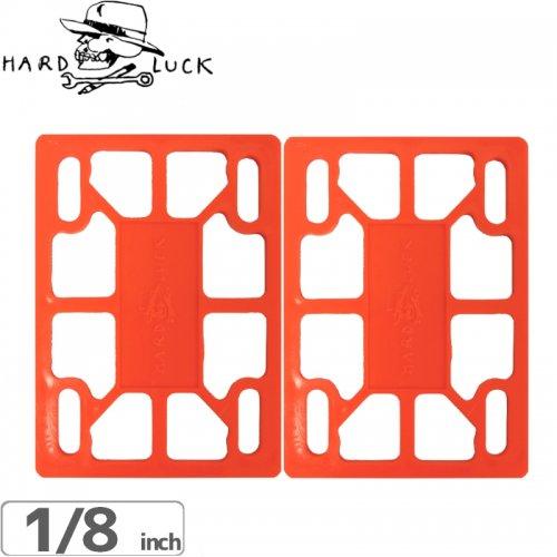 【ハードラック HARD LUCK ライザーパッド】TEAM RISER PADS【1/8】【オレンジ】 NO1