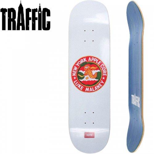 【TRAFFIC トラフィック スケボー デッキ】MALANEY APPLE CORE DECK[7.875インチ]NO18