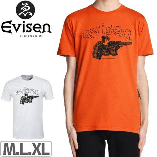 【EVISEN エビセン スケボー Tシャツ】DIRTY EVI TARO TEE【2カラー】NO2