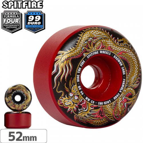 【SPITFIRE スピットファイアー ウィール】F4 LOCK-INS DAEWON FURY MASHUP【99D】【52mm】NO251