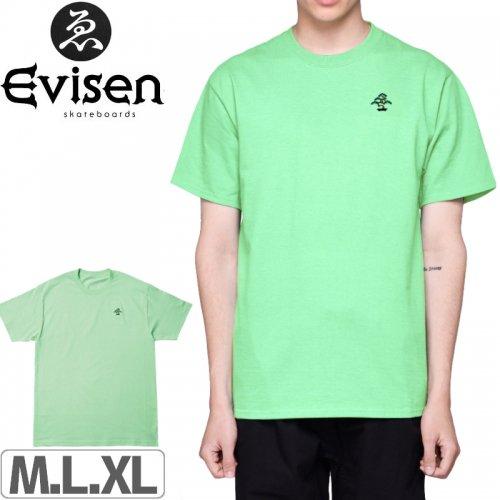 【EVISEN エビセン スケボー Tシャツ】BONSAI TEE【ミント】NO4