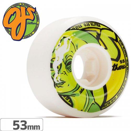 【オージェイ OJ WHEELS スケボー ウィール】ALIEN TOKE ELITE UNIVERSALS【53mm / 101A】NO40