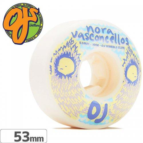 【オージェイ OJ WHEELS スケボー ウィール】NORA WAVES ELITE EZ EDGE【53mm / 101A】NO46