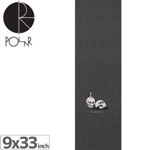 【POLAR ポーラー スケボー デッキテープ】DOODLE RITUALS GRIP【9x33】NO5