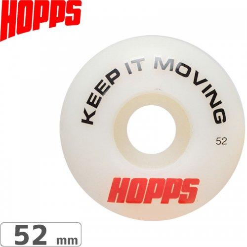 【HOPPS ホップス スケボー ウィール】KEEP IT MOVING PERFORMANCE【52mm 101A】NO1