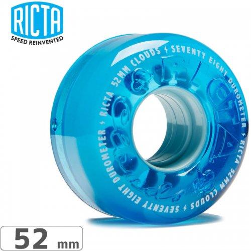 【リクタ RICTA スケボー ウィール】CLOUDS BLUE【78A 54mm】ソフト NO40