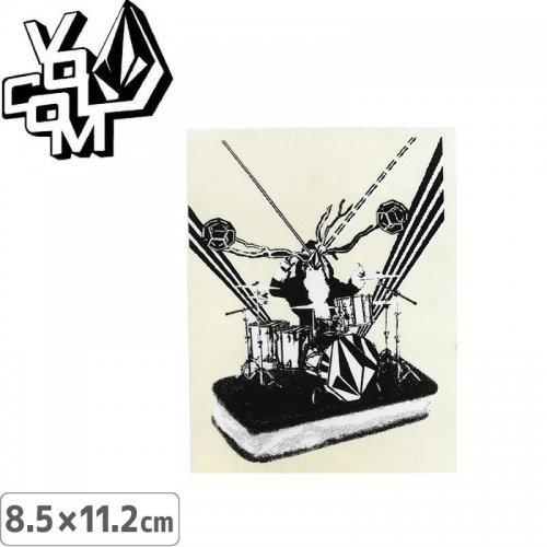 【ボルコム VOLCOM ステッカー】STICKER【8.5cm x 11.2cm】NO358