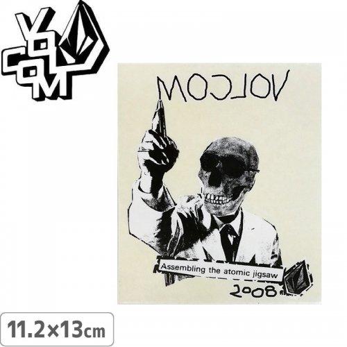 【ボルコム VOLCOM ステッカー】STICKER【11.2cm x 13cm】NO360