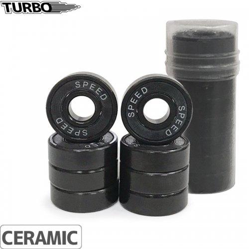 【ターボ スケートボード ベアリング TURBO BEARING】CERAMIC BALL BLACK BEARING【セラミック】NO5