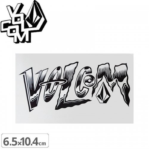 【ボルコム VOLCOM ステッカー】STICKER【6.5cm x 10.4cm】NO362
