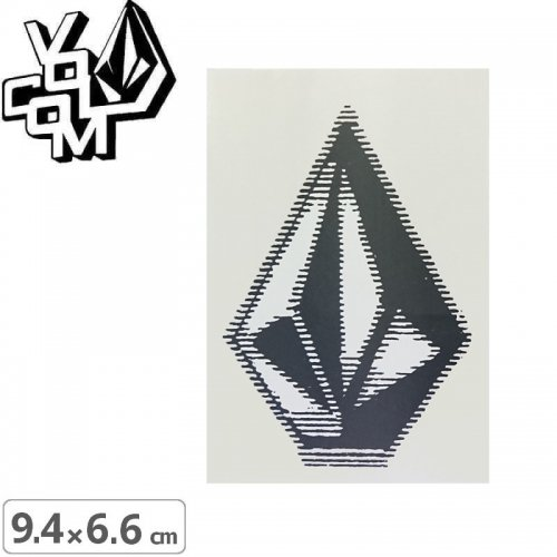 【ボルコム VOLCOM ステッカー】STICKER【9.4cm x 6.6cm】NO363