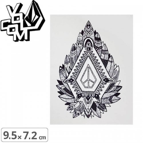 【ボルコム VOLCOM ステッカー】STICKER【9.5cm x 7.2cm】NO364
