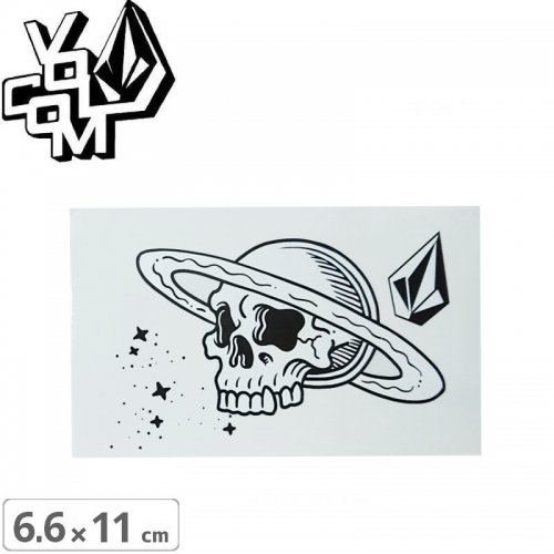 【ボルコム VOLCOM ステッカー】STICKER【6.6cm x 11cm】NO365