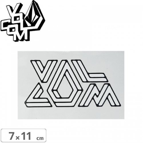 【ボルコム VOLCOM ステッカー】STICKER【7cm x 11cm】NO366