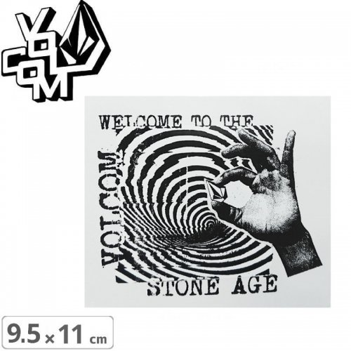 【ボルコム VOLCOM ステッカー】STICKER【9.5cm x 11cm】NO367