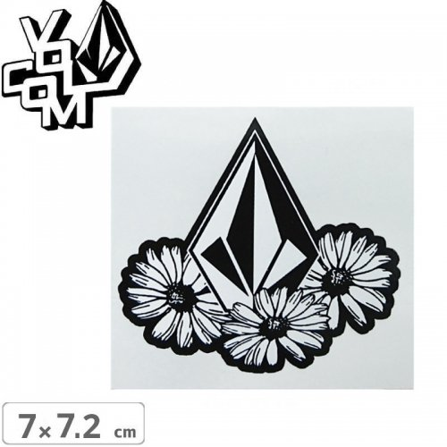 【ボルコム VOLCOM ステッカー】STICKER【7cm x 7.2cm】NO369