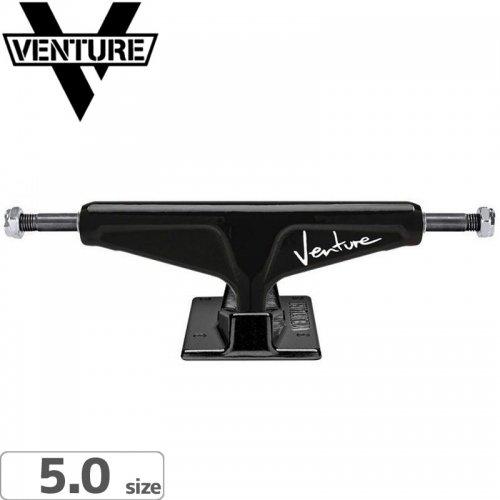【VENTURE ベンチャー スケボー トラック】92 V-LIGHT BLACK【5.0】NO111