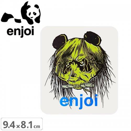 【ENJOI エンジョイ ステッカー】80'S HEAD STICKER【9.4cm x 8.1cm】NO80