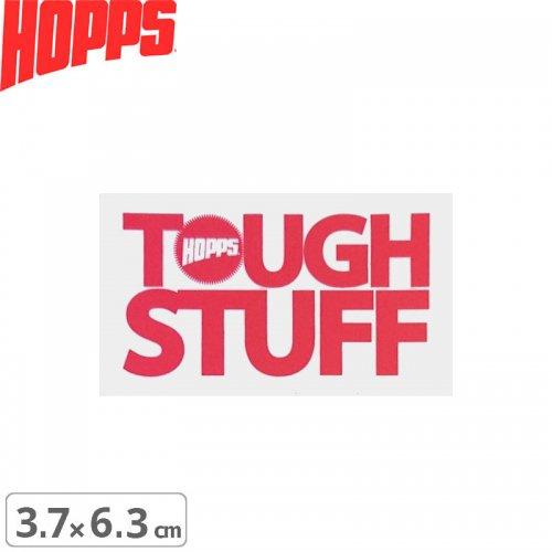 【HOPPS ホップス ステッカー】TOUGH STUFF【3.7cm x 6.3cm】NO2