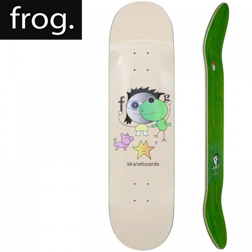 【FROG SKATEBOARDS フロッグ スケートボード デッキ】FROG KID! DECK[8.25インチ]NO1