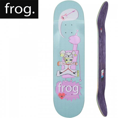 【FROG SKATEBOARDS フロッグ スケートボード デッキ】STRAPPED IN DECK[8.5インチ]NO2