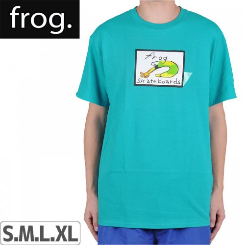 【FROG SKATEBOARDS フロッグ スケートボード Tシャツ】CLASSIC FROG LOGO TEE【グリーン】NO1