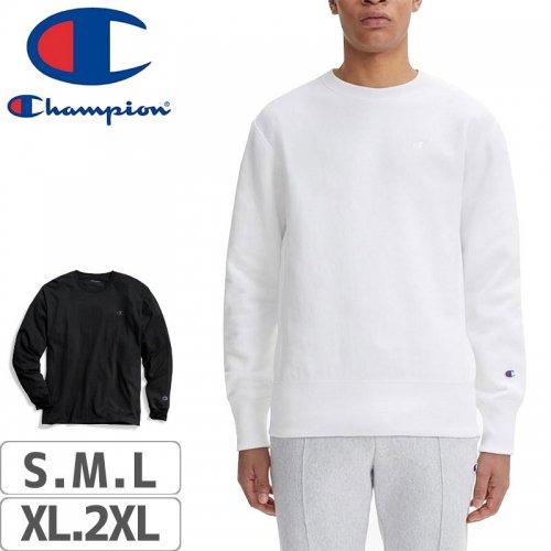【CHAMPION チャンピオン スポーツ ロング Tシャツ】US規格 T2978 JERSEY LONG SLEEVE【ブラック】【ホワイト】NO1
