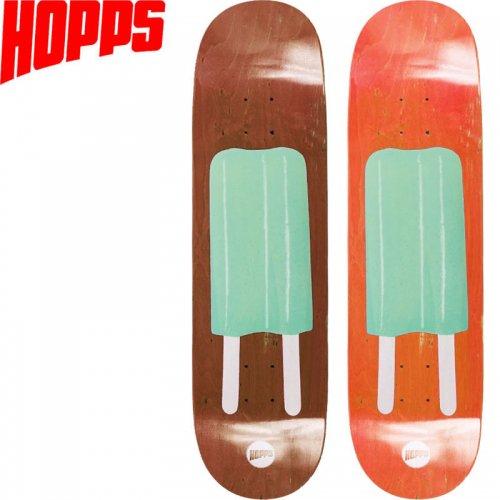 【HOPPS ホップス スケボー デッキ】POP LIME DECK[8.0インチ]NO16