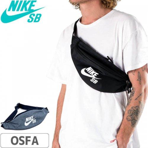 【ナイキエスビー バッグ スケボー】Nike SB Heritage Hip Pack【ブラック】【ヘザーブルー】NO19